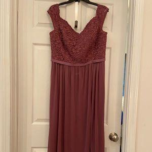 Chianti bridesmaid dress